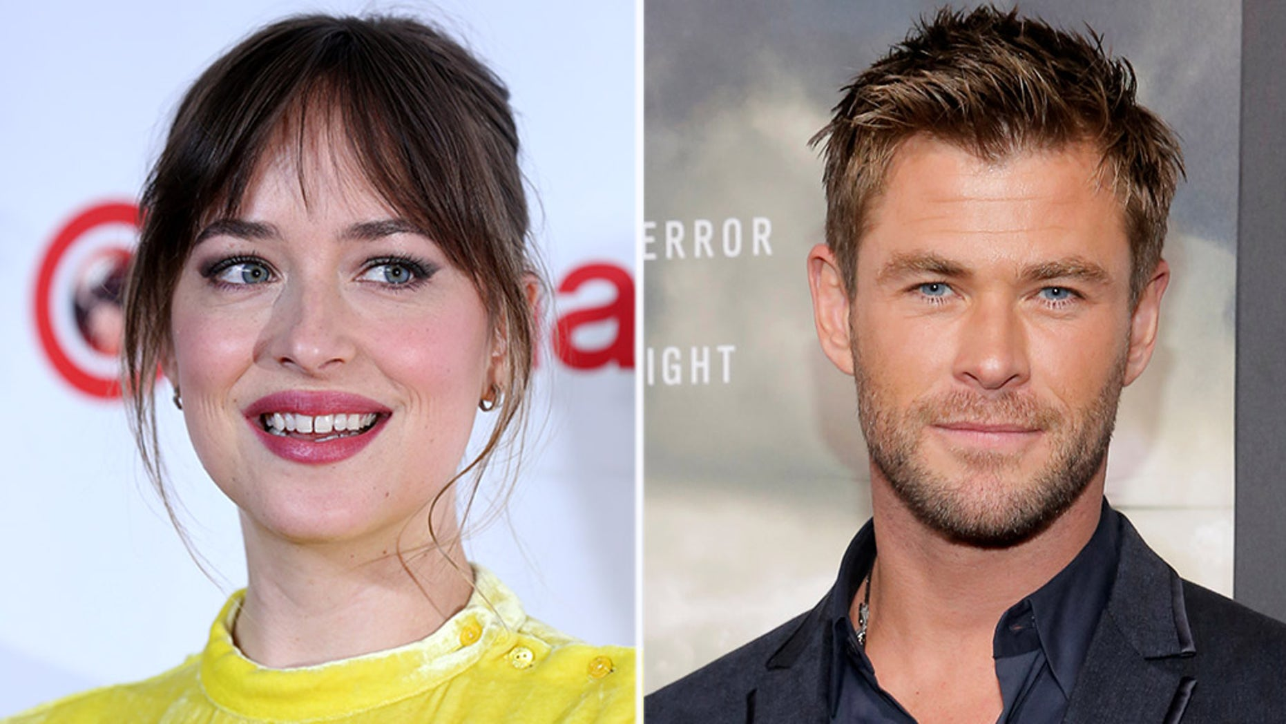 Dakota Johnson isn't mincing words when it comes to Chris Hemsworth's body.