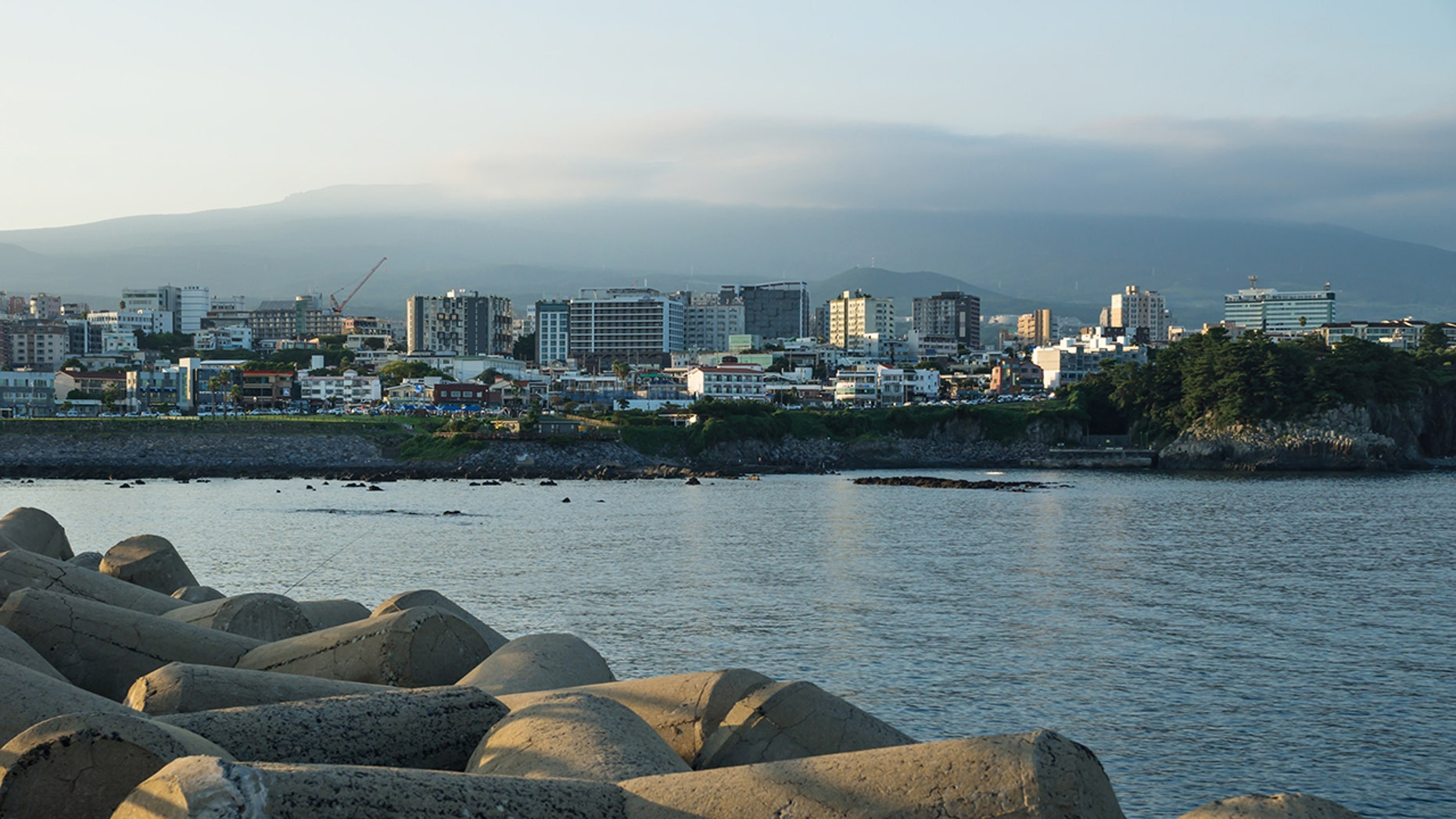 The tourist island of Jeju (pictured) has seen an influx of Yemeni asylum seekers aiming to claim refugee status.