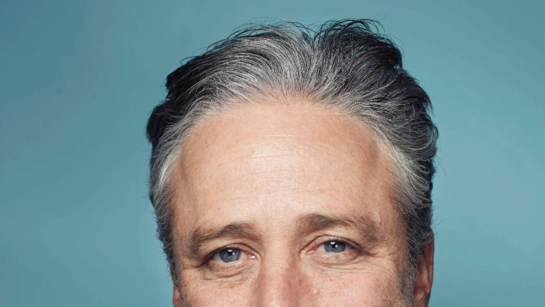 Jon Stewart and his wife adopted an abused horse.