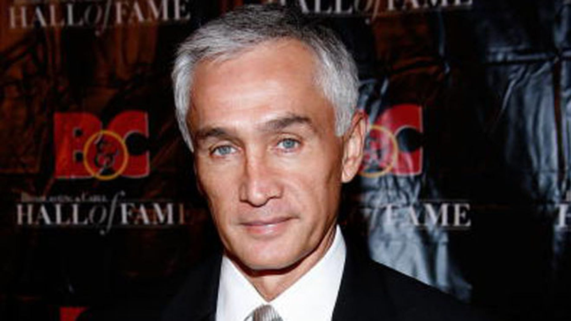 NEW YORK - OCTOBER 20:  Univision news anchor Jorge Ramos attends the 19th Annual Broadcasting & Cable Hall of Fame Awards at The Waldorf-Astoria on October 20, 2009 in New York City.  (Photo by Andy Kropa/Getty Images)