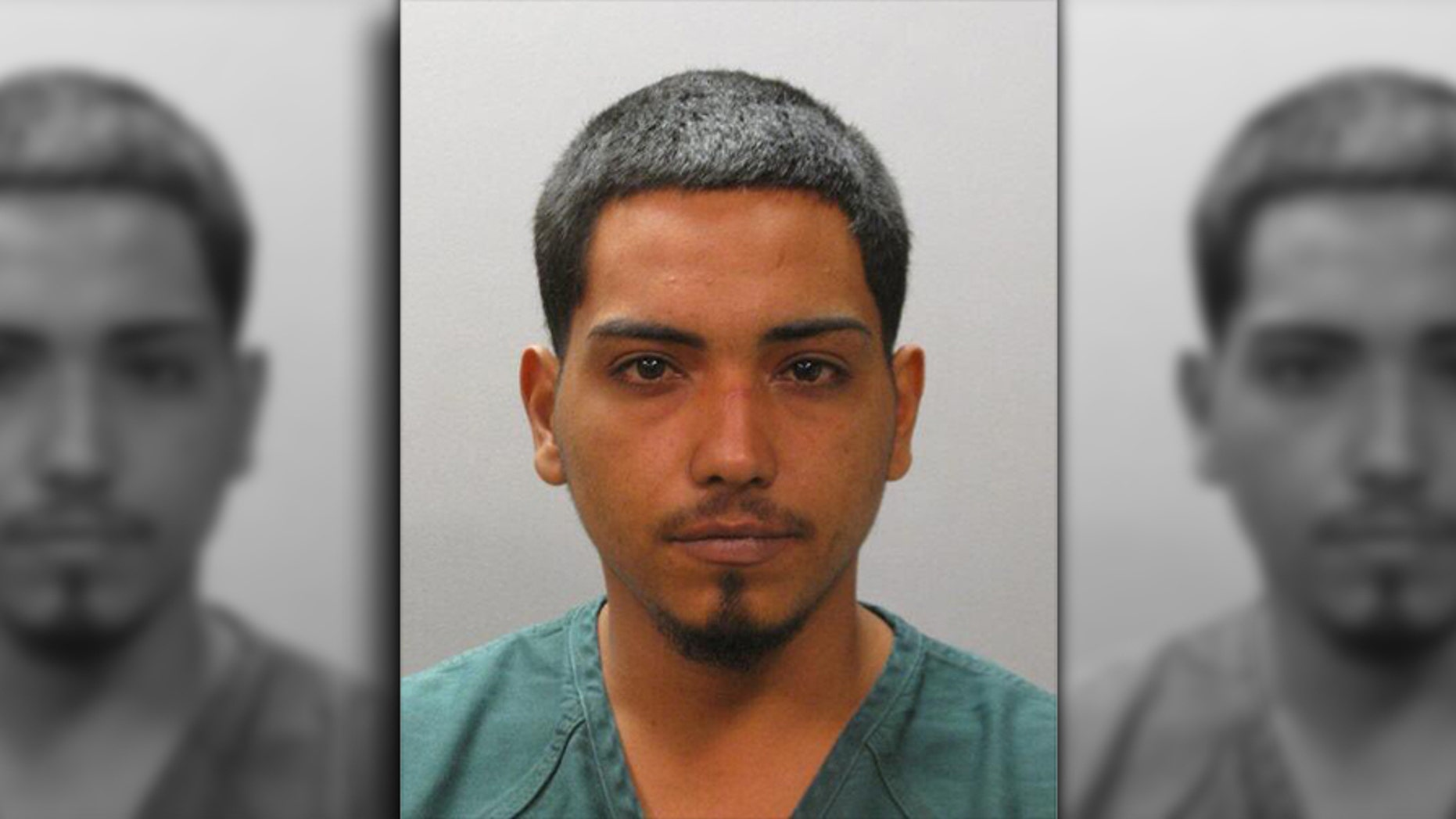 "Jose Ramos Sandoval was arrested by Florida authorities Sunday after police say he held a woman captive in his car, and was found out after a store employee saw the woman mouth the word ""help."""