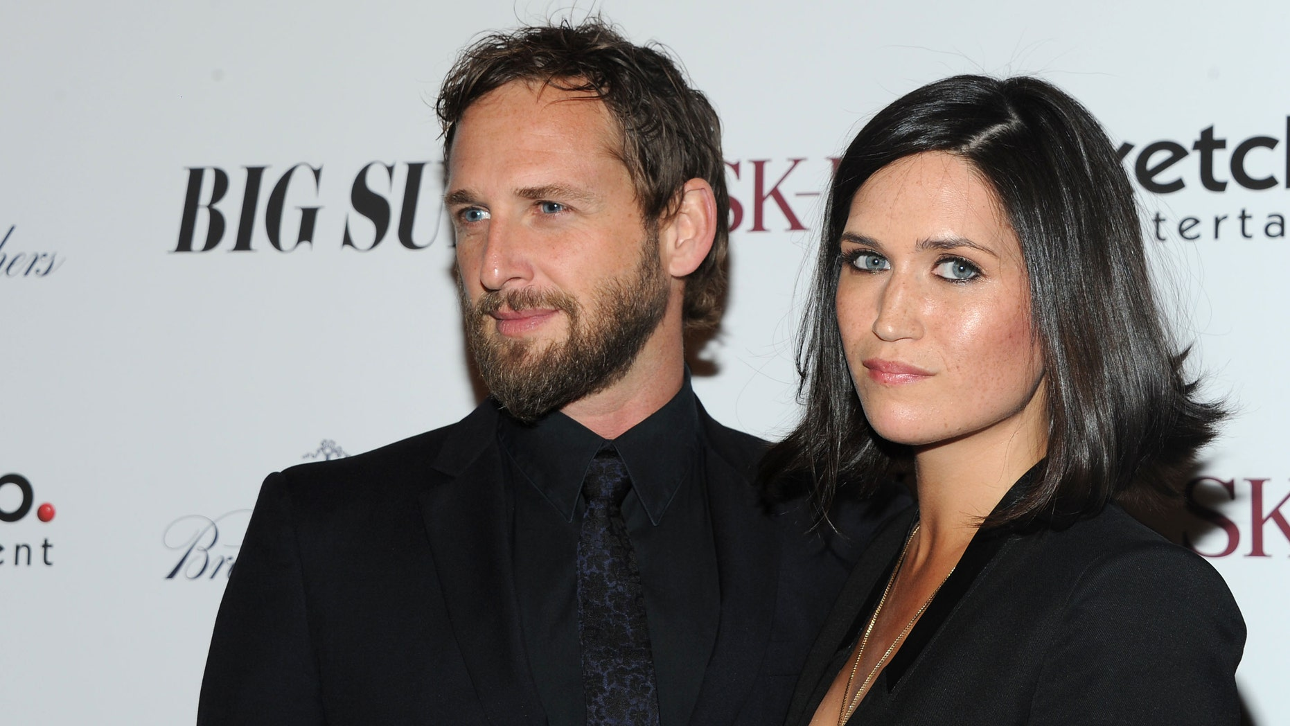 """NEW YORK, NY - OCTOBER 28:  Actor Josh Lucas and writer Jessica Ciencin Henriquez attend the """"Big Sur"""" premiere at Sunshine Landmark on October 28, 2013 in New York City.  (Photo by Ben Gabbe/Getty Images)"""