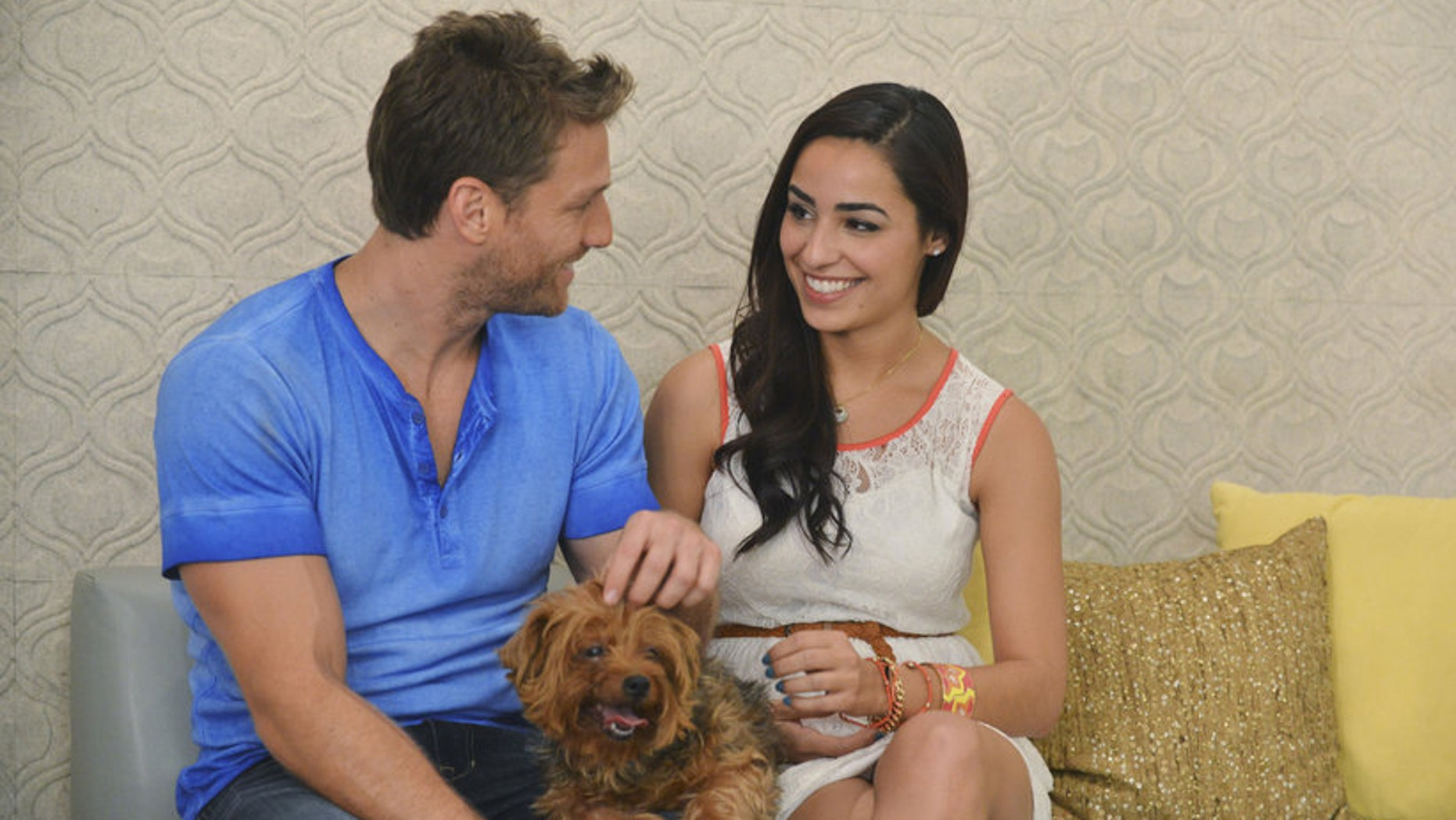 Juan Pablo and Victoria, before the epic meltdown.