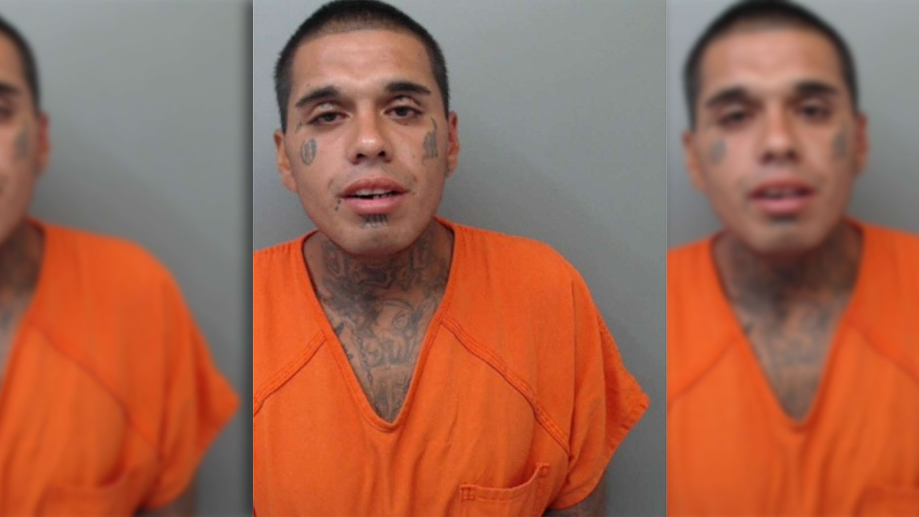 Juan Francisco Leyva  was arrested and charged Sunday with aggravated robbery, police said.