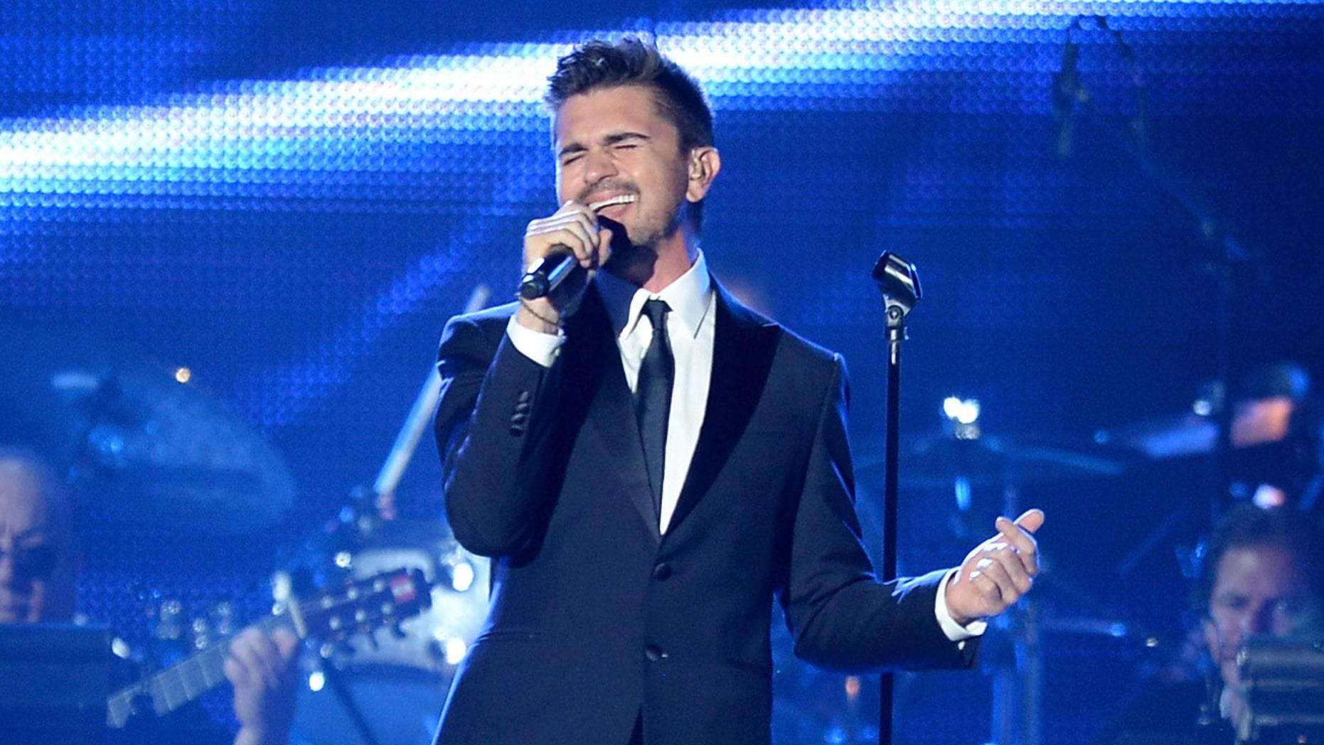 Juanes at the Mandalay Bay Convention Center on November 20, 2013 in Las Vegas, Nevada.
