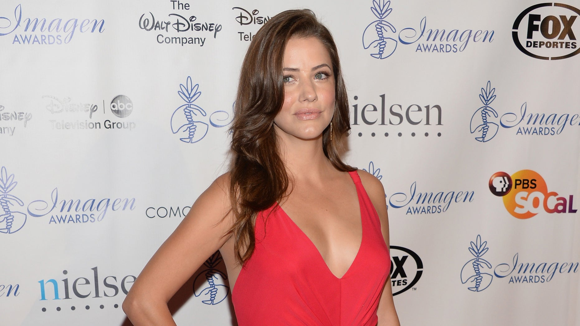 BEVERLY HILLS, CA - AUGUST 16:  Julie Gonzalo attends the 28th Annual Imagen Awards at The Beverly Hilton Hotel on August 16, 2013 in Beverly Hills, California.  (Photo by Jason Kempin/Getty Images)