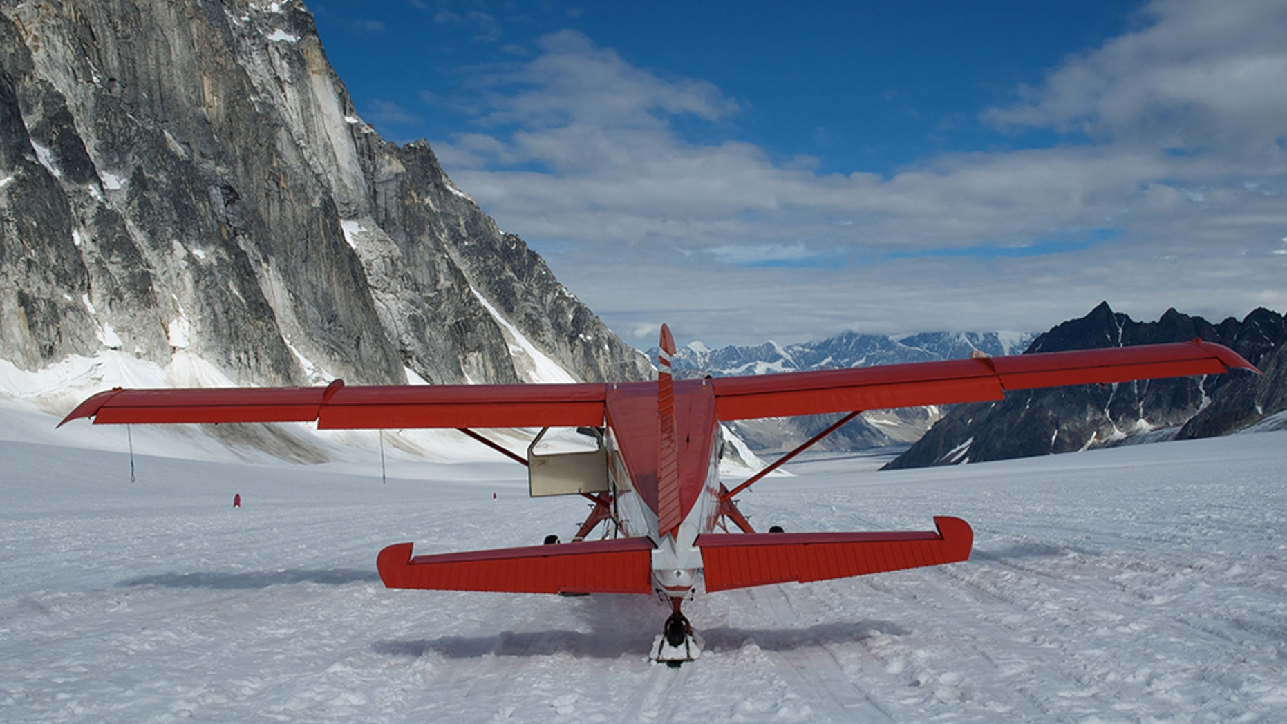 The National Park Service says four people have died in the crash of a sightseeing airplane, similar to the aircraft seen here, in Alaska's Denali National Park after thick clouds hampered rescuers' response to a distress call.