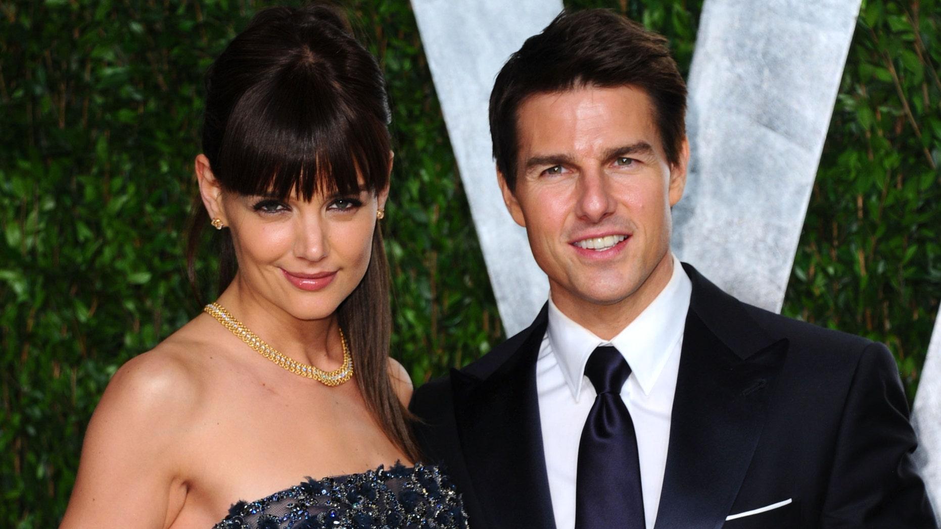 نتيجة بحث الصور عن Tom Cruise + Katie Holmes
