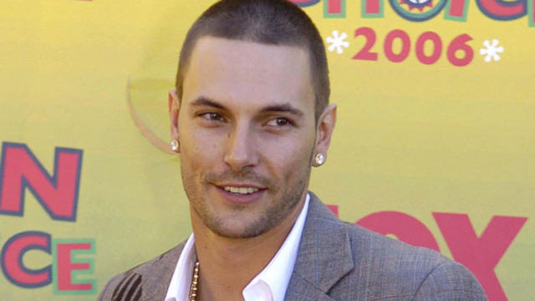Britney Spears' ex-husband, Kevin Federline (AP).