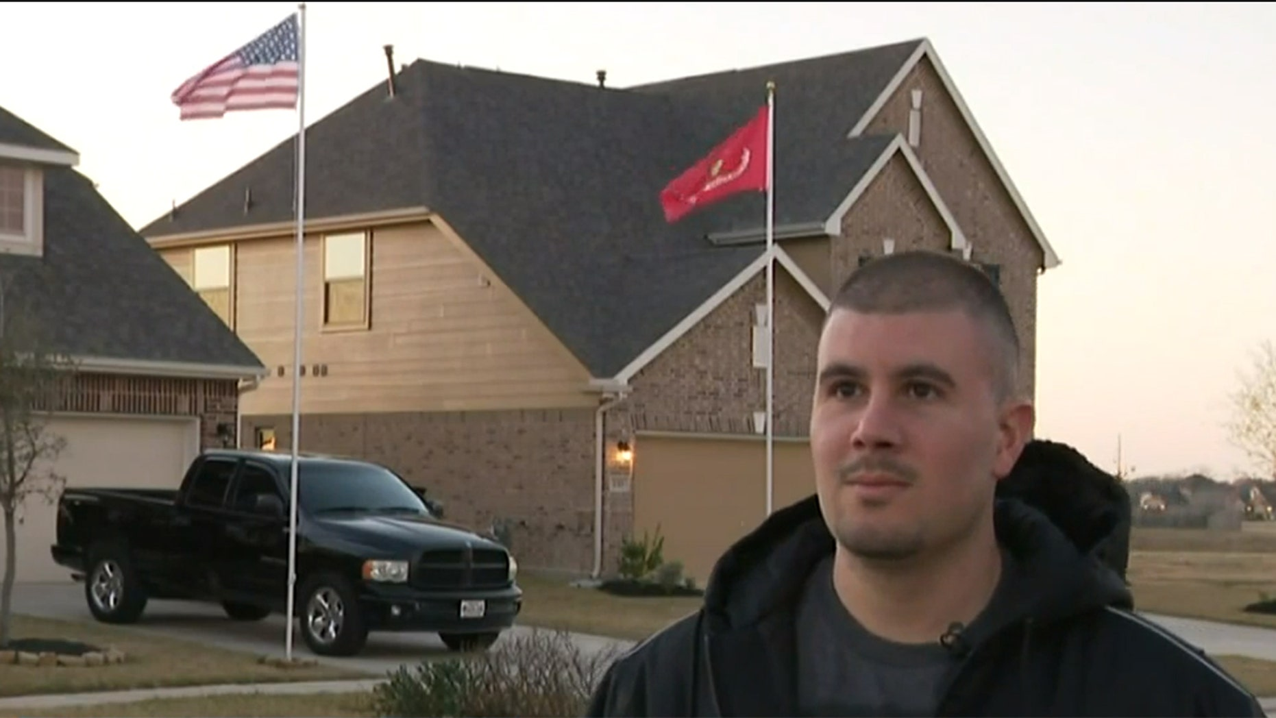 A Marine Corps veteran in Texas is fighting his homeowners association to let him fly his American and Marine Corps flags.