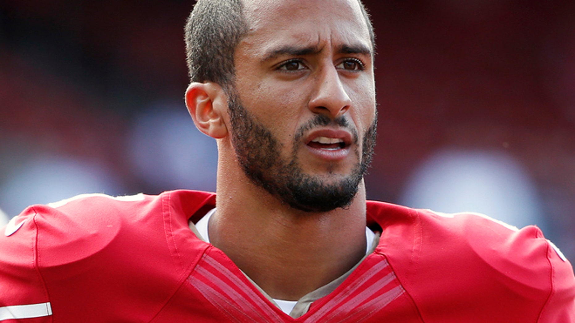 FILE 2013: San Francisco 49ers quarterback Colin Kaepernick is being investigated after a possible sexual assault in Miami.