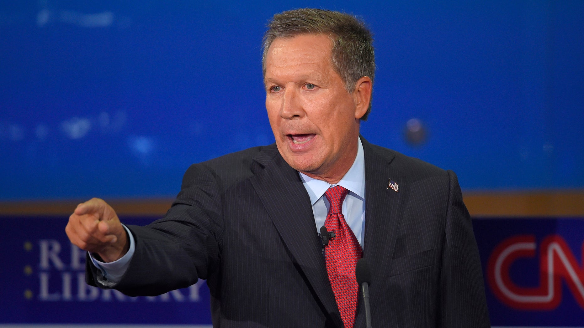Ohio Gov. John Kasich could challenge President Trump as an Independent in 2020. Sept. 16, 2015, in Simi Valley, Calif. (AP Photo/Mark J. Terrill)