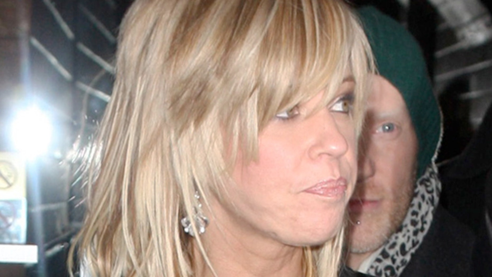 Kate Gosselin leaving Butter after dinner then heads to SPIN NEWYORK.  February 5, 2010. X17online.com exclusive