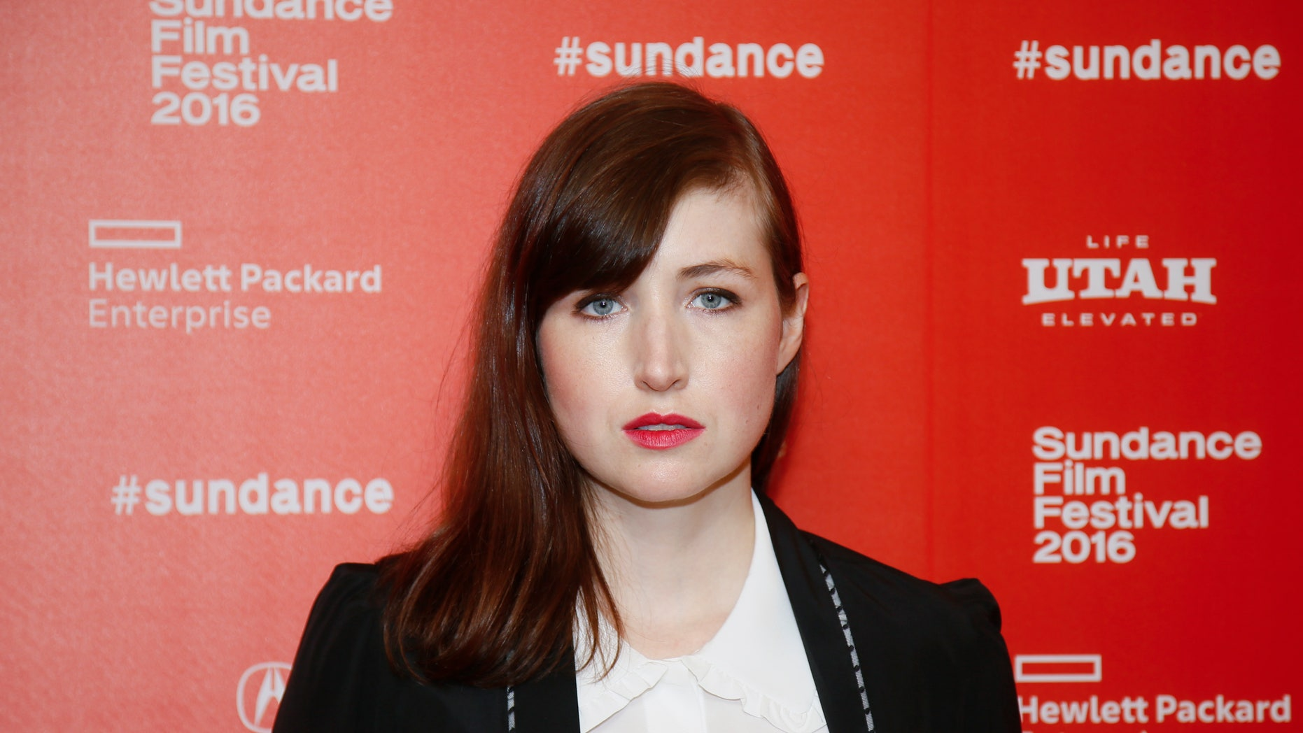 """Actress Kate Lyn Sheil poses at the premiere of the Starz original limited series """"The Girlfriend Experience"""" during the 2016 Sundance Film Festival on Saturday, Jan. 23, 2016, in Park City, Utah. (Photo by Danny Moloshok/Invision/AP)"""