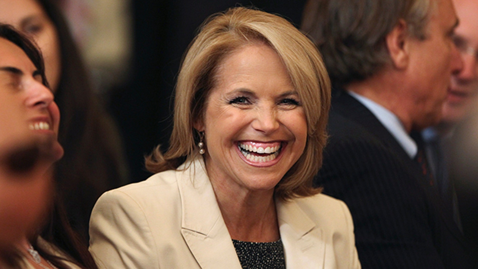 """Katie Couric's """"Wake-Up Call"""" newsletter reminded readers how times have changed over the past 28 years."""