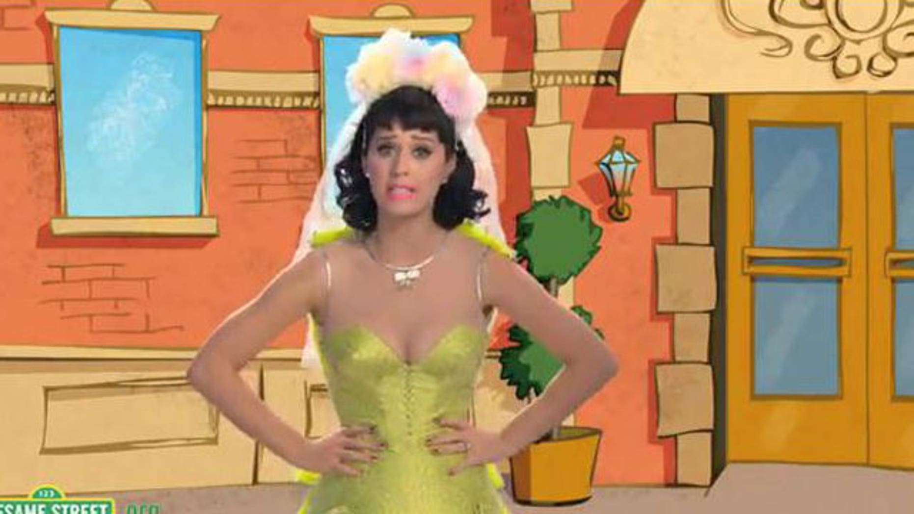 "Katy Perry's revealing clothing cost her an appearance on the family-friendly ""Sesame Street."""