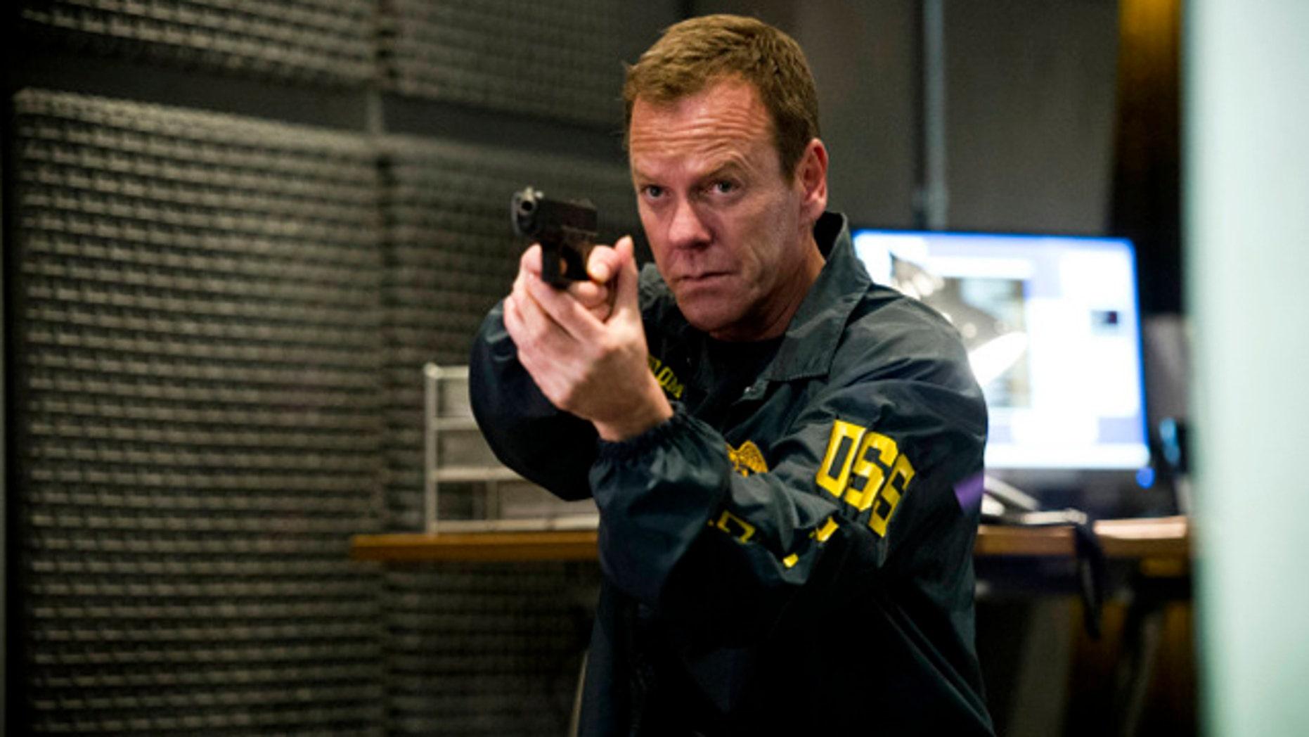 Keifer Sutherland as '24' hero Jack Bauer (FOX)