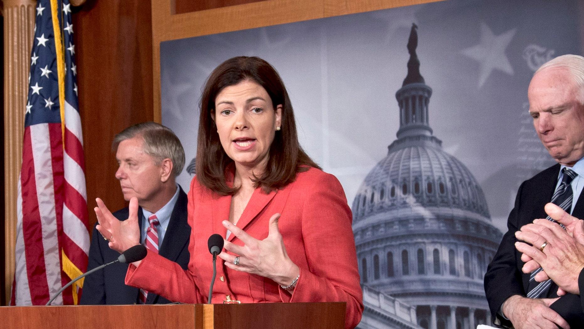 Sen. Kelly Ayotte, R-N.H., asked Secretary of Agriculture Tom Vilsack to intervene on behalf of the district. (AP)