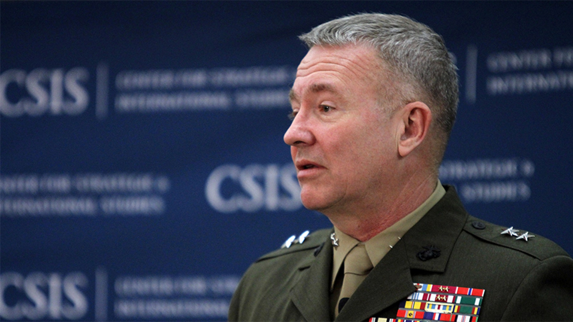 """Marine Lt. Gen. Kenneth McKenzie, director of the Pentagon's Joint Staff, announced Thursday that the Pentagon's """"new approach"""" in Afghanistan may lead to more U.S. casualties."""
