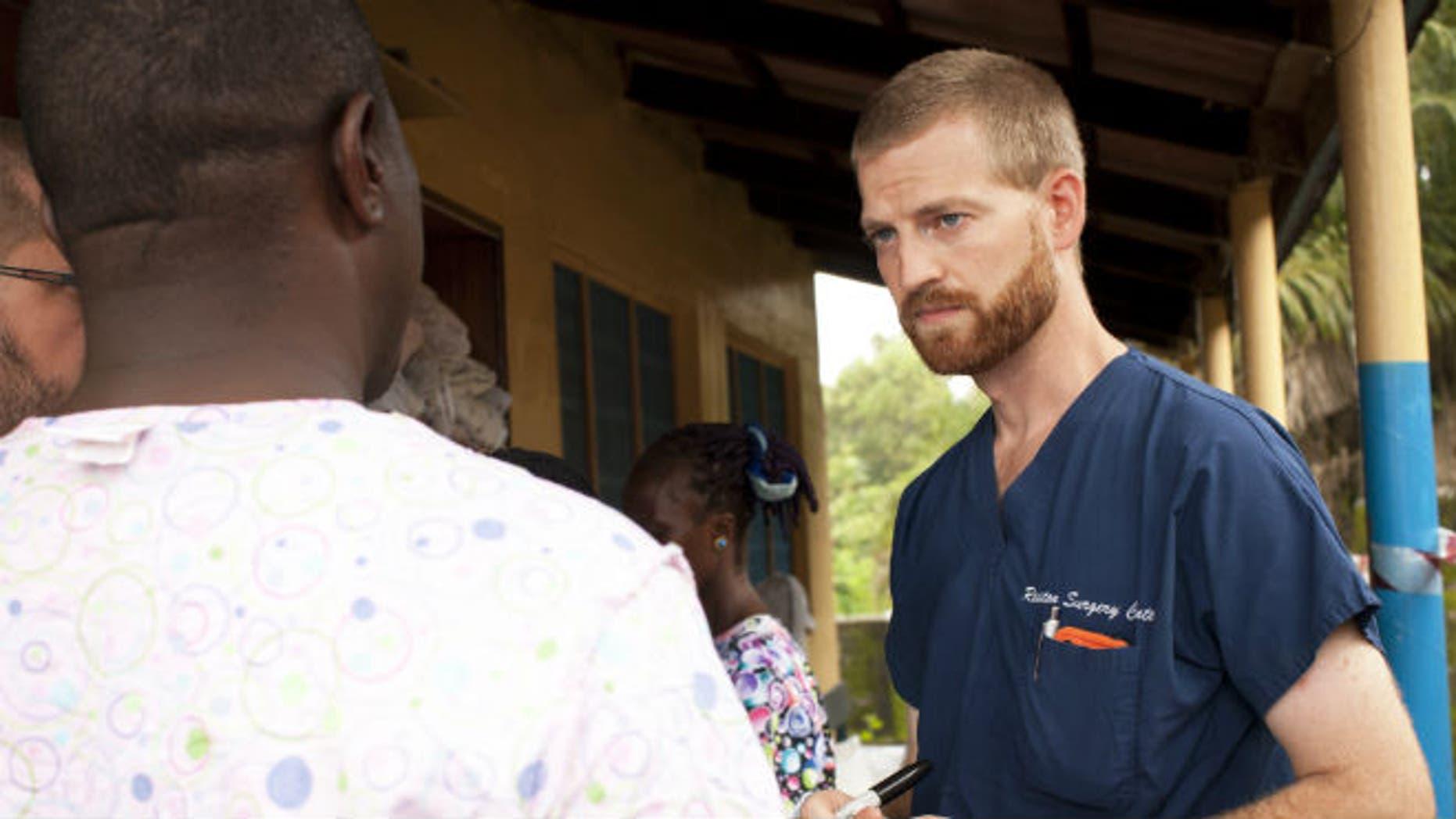 Dr. Kent Brantly, courtesy Samaritan's Purse