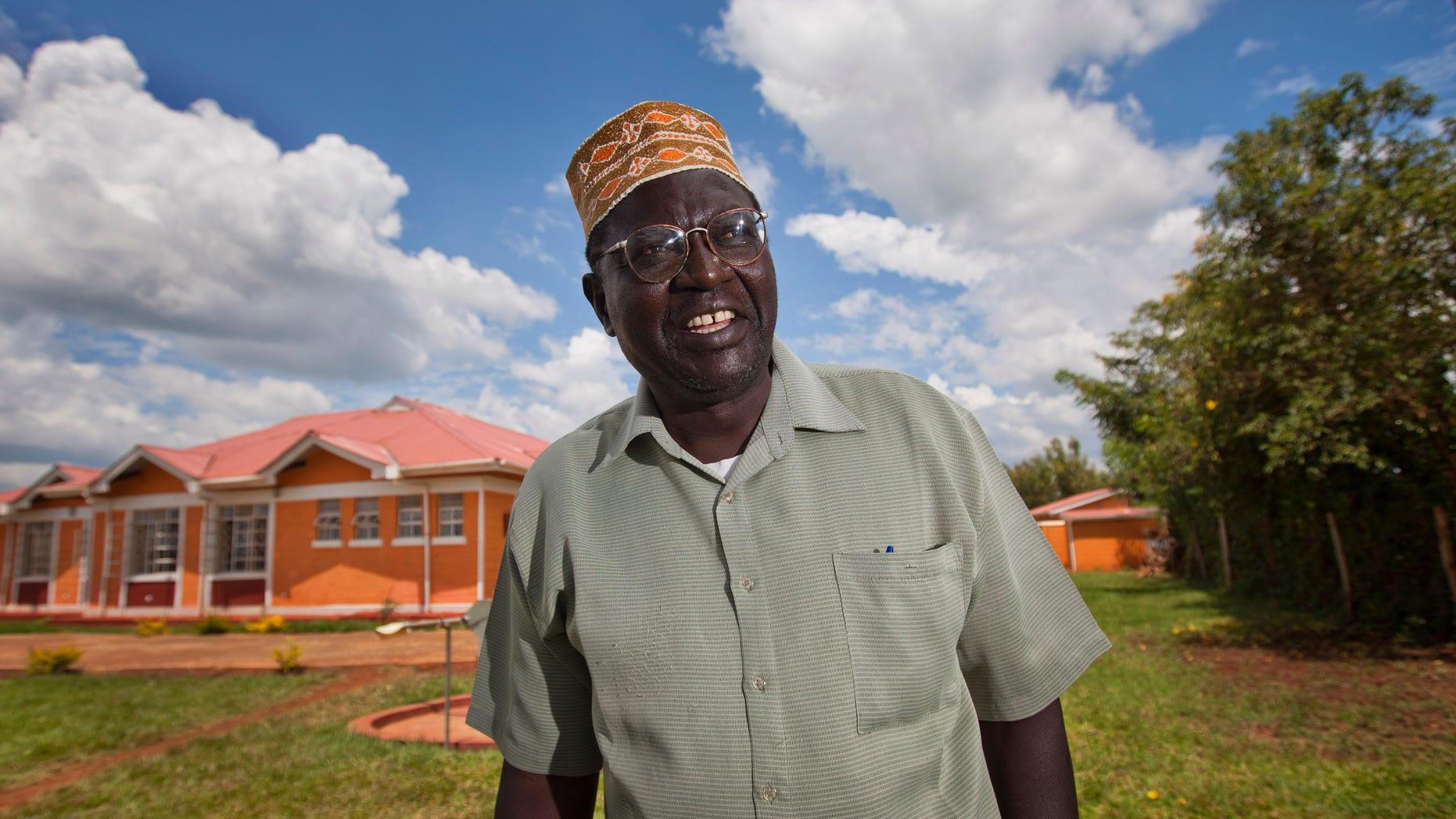 Nov. 4, 2012 - FILE  photo of Malik Obama, half-brother of President Barack Obama, in western Kenya.