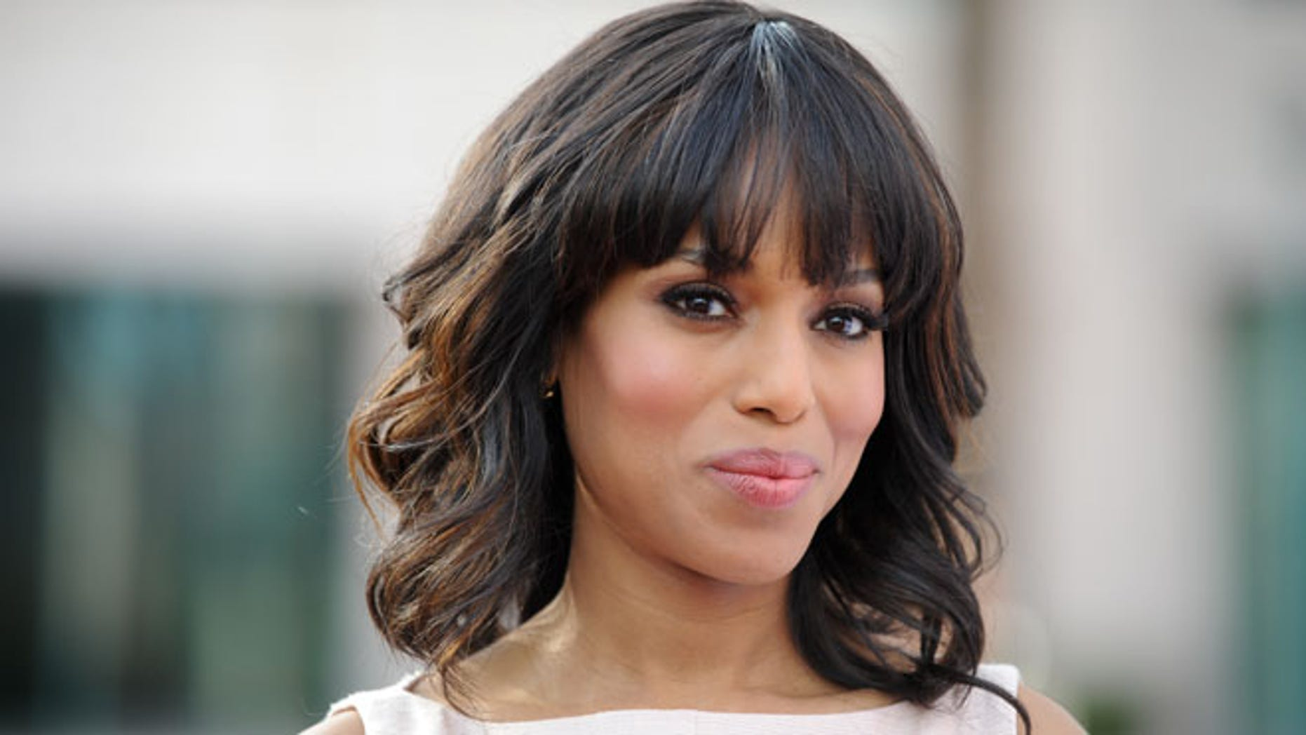 May 16, 2013: This photo shows actress Kerry Washington at the Academy of Television Art and Sciences' event in North Hollywood, Calif.