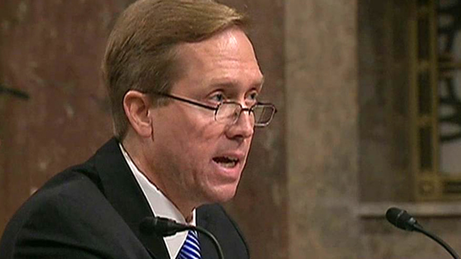 Nov. 17, 2011: Kevin Ohlson, nominated for the U.S. Court of Appeals for the Armed Services, testifies before the Senate Armed Services Committee.