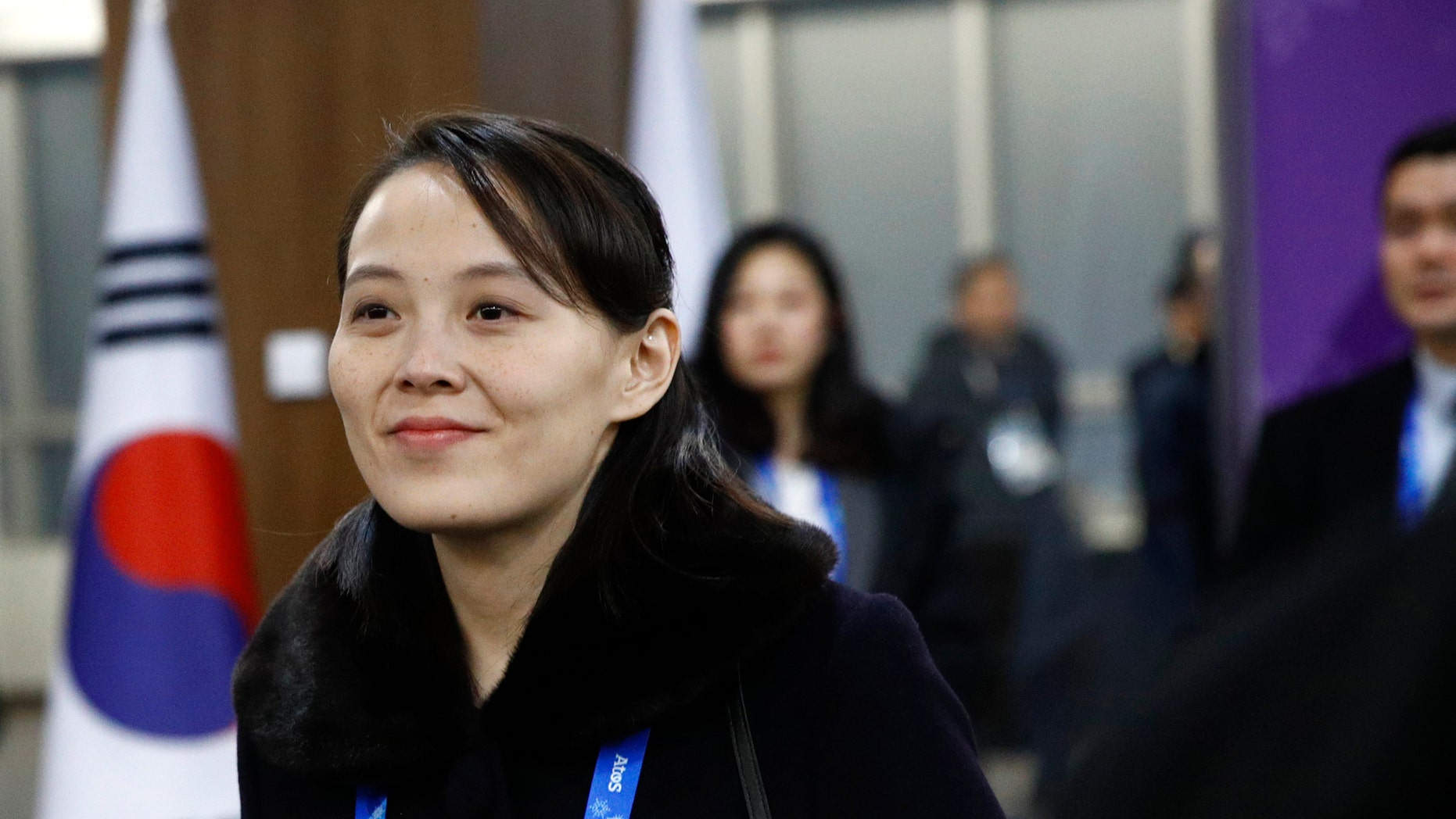 Kim Yo Jong gained notoriety at the Winter Olympics in South Korea.
