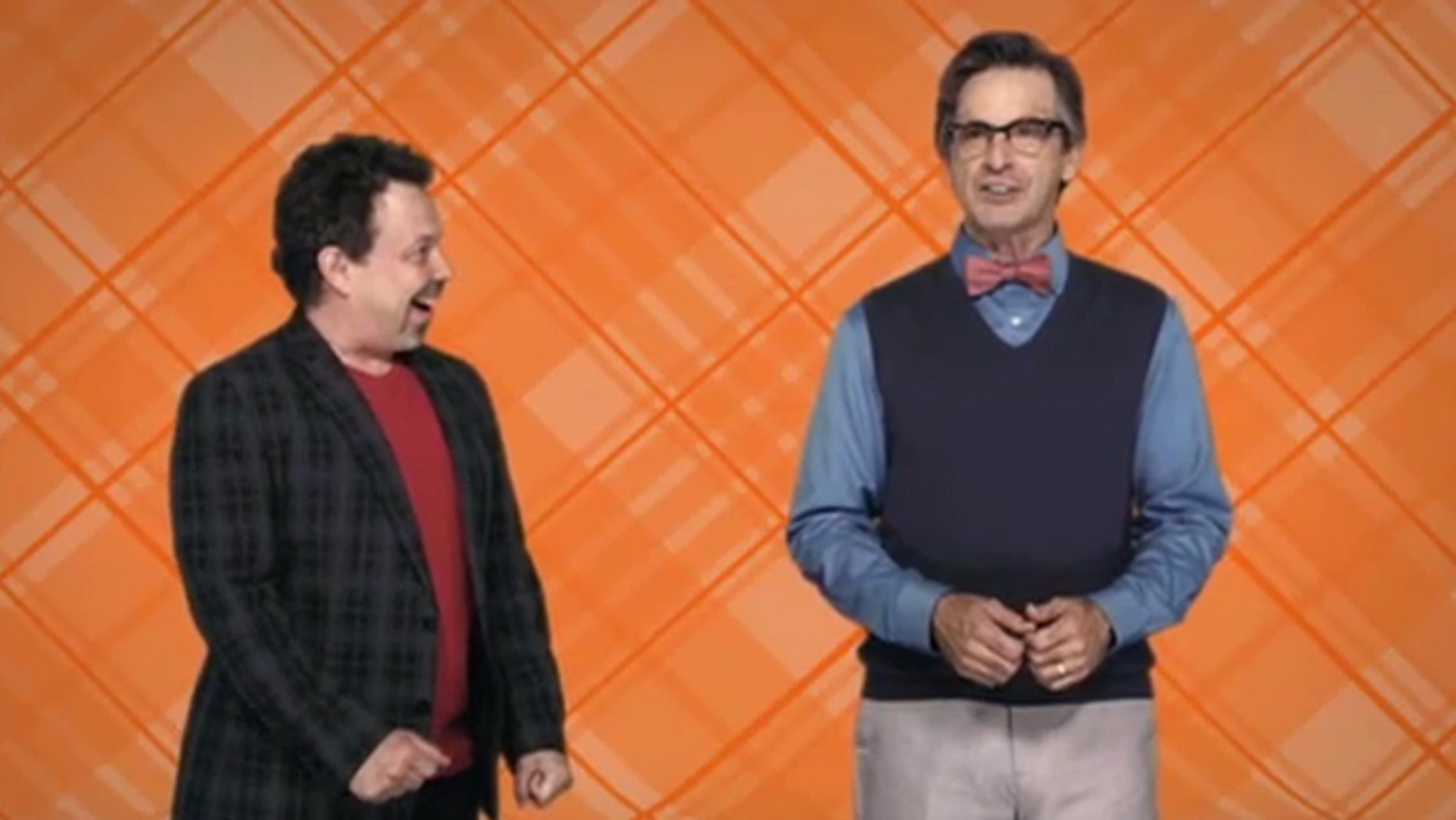 """""""King of the Nerds"""" hosts Curtis Armstrong and Robert Carradine."""