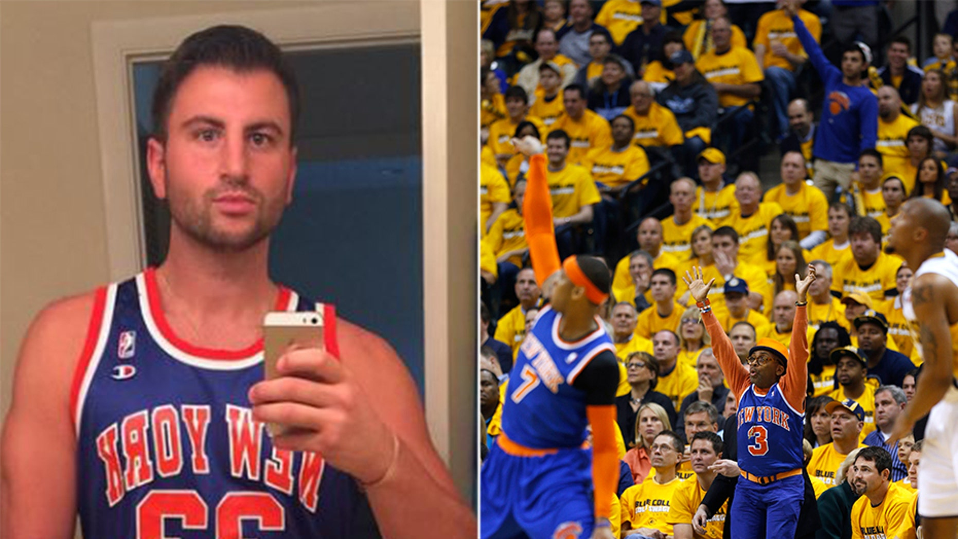 Evan Perlmutter sold his New York Knicks fandom.