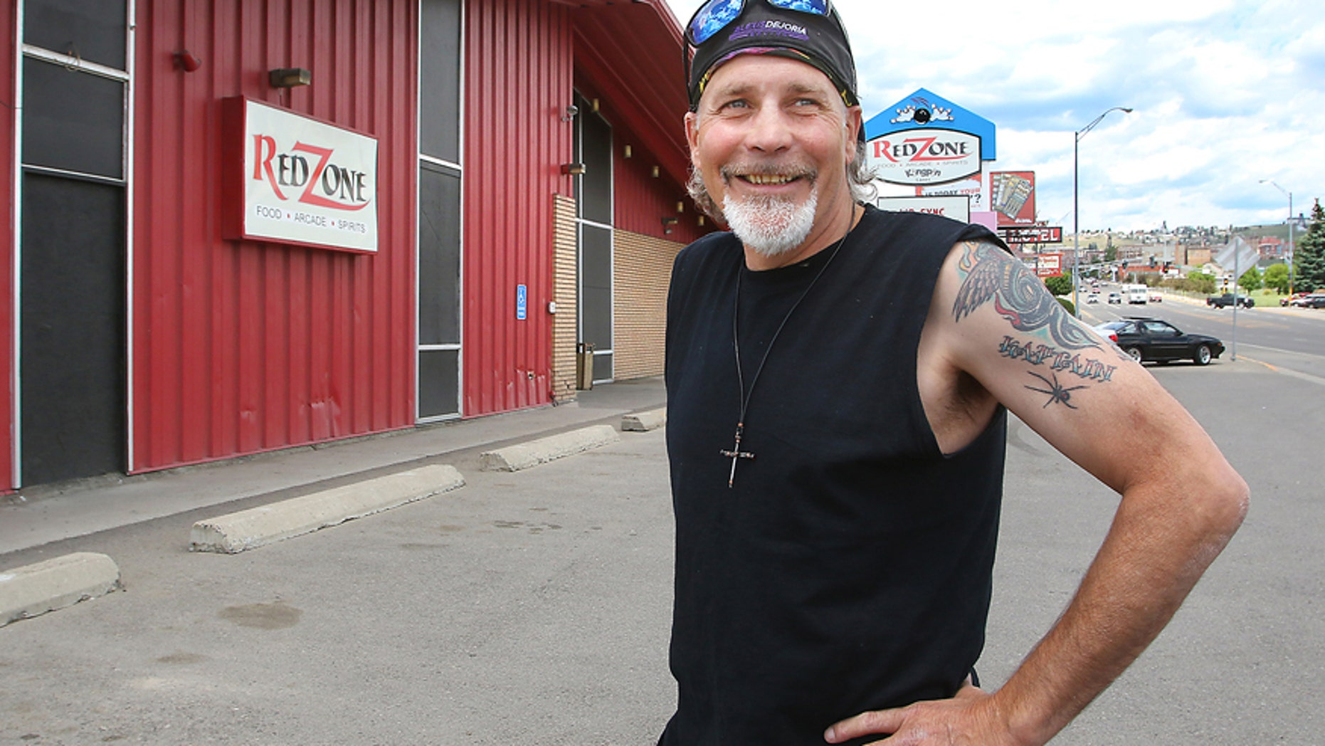 Motorcycle daredevil Robbie Knievel has announced Tuesday, June 23, 2015, that he plans to jump over the Red Zone, during Evel Knievel Day's this July in Butte, Mont.