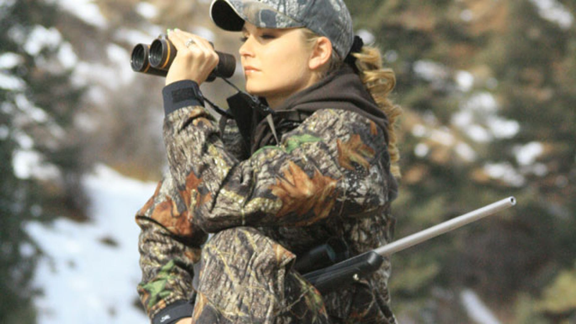 Kristy Lee Cook, a former American Idol contestant, is starring in a new reality show that showcases her love for a good, old-fashioned American hunt.