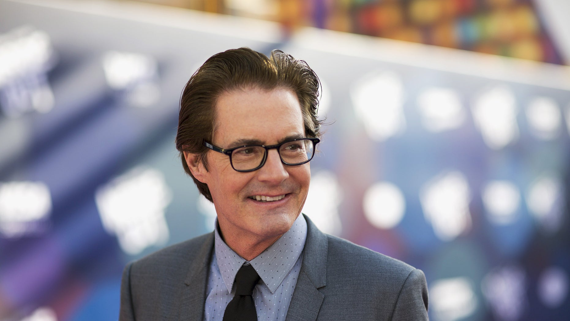 """Cast member Kyle MacLachlan poses at the premiere of """"Inside Out"""" at El Capitan theatre in Hollywood, California June 8, 2015. The movie opens in the U.S. on June 19.  REUTERS/Mario Anzuoni - RTX1FQ76"""