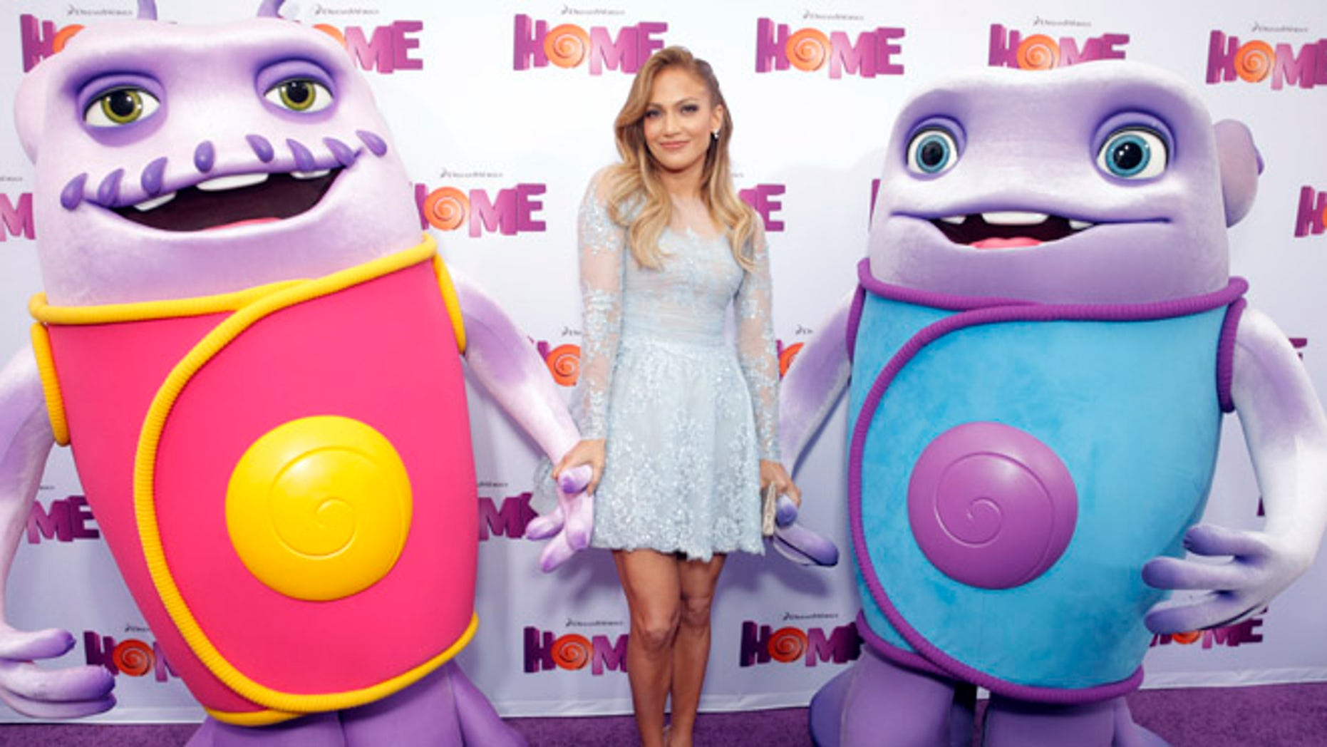 """Jennifer Lopez attends the Los Angeles Premiere of """"Home"""" at the Regency Village Theatre on Sunday, March 22, 2015, in Westwood, Calif. (Photo by Todd Williamson/Invision/AP)"""