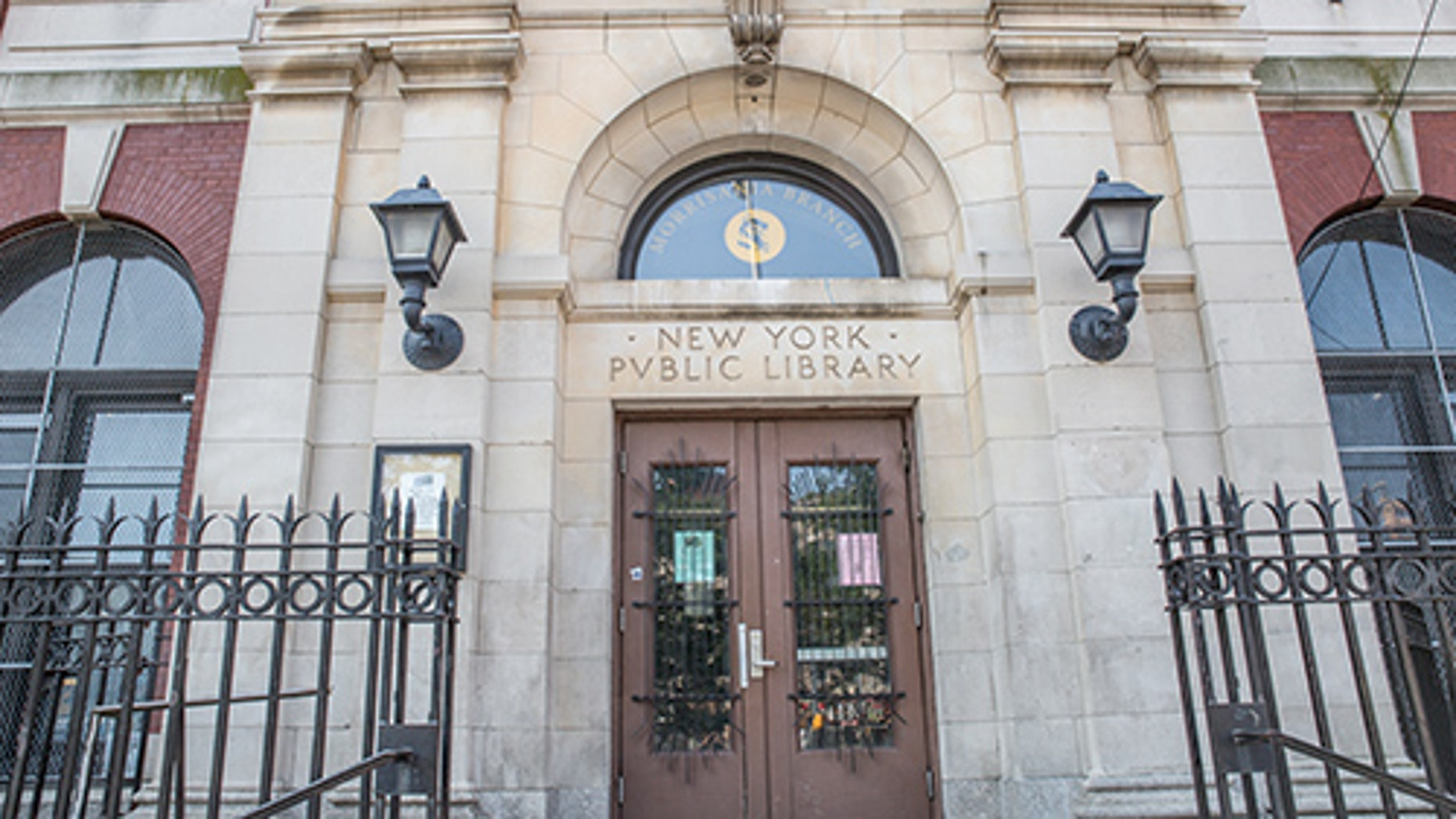 The Morrisania (Bronx) branch of the New York Public Library. (Credit: NYPL)