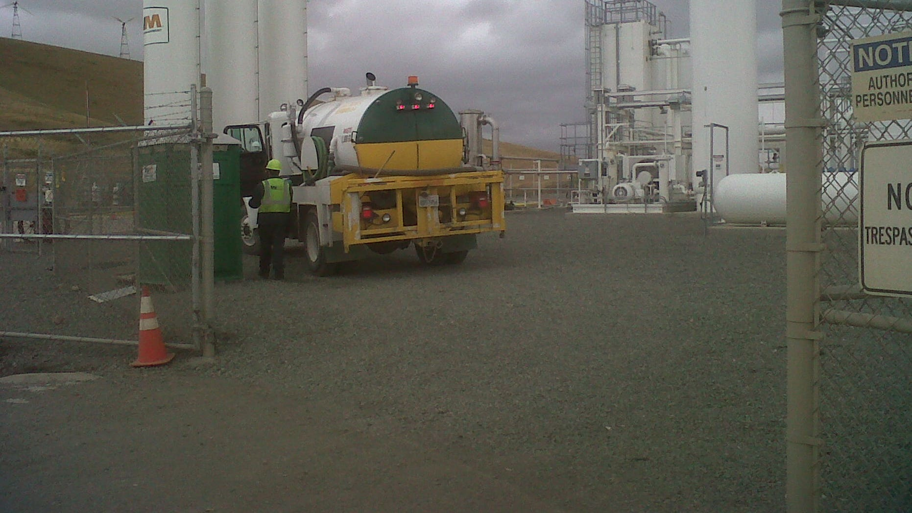 The Altamont Landfill LNG plant in Livermore, Calif. (Fox News)