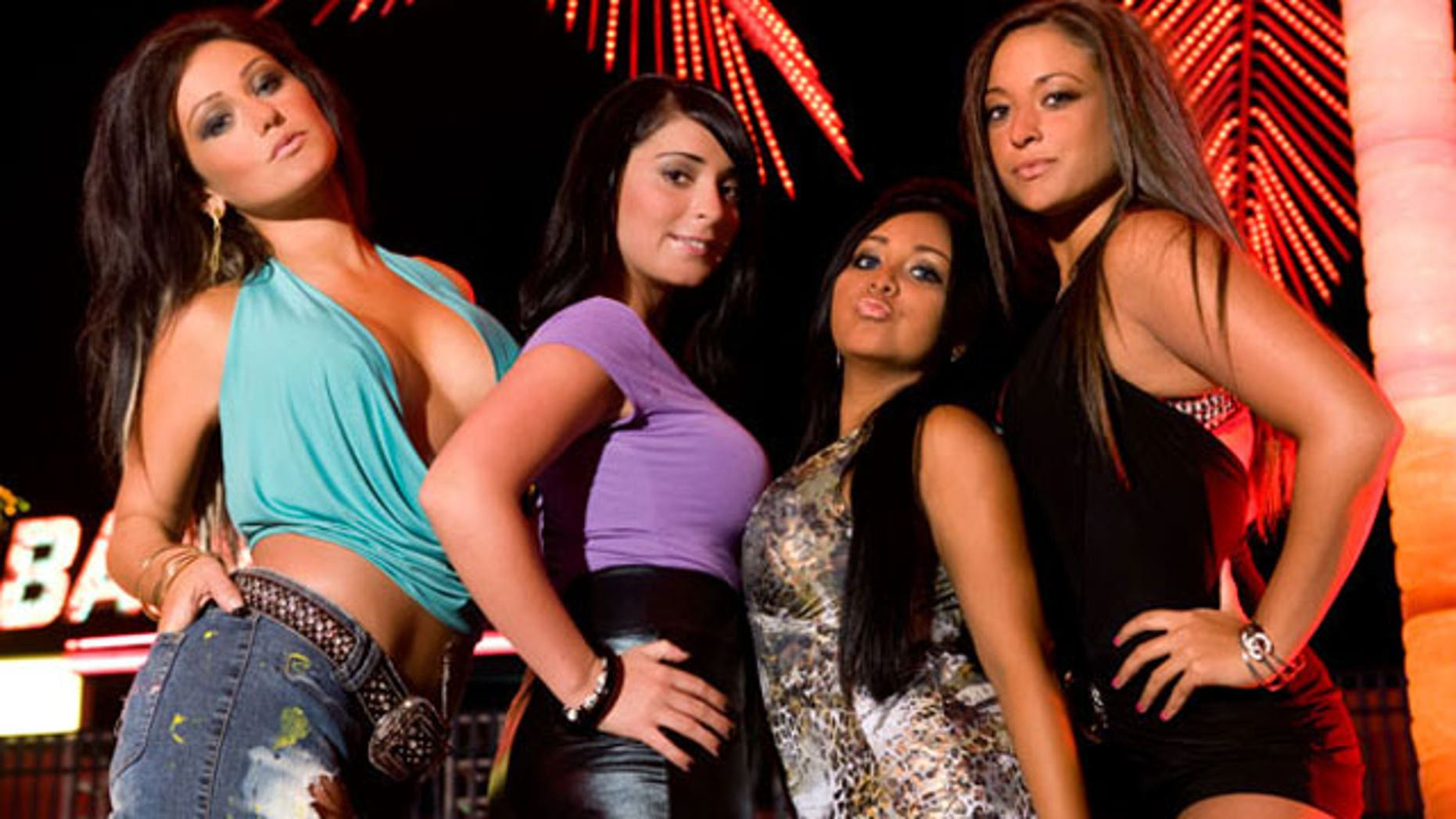 The ladies of the 'Jersey Shore' cast.