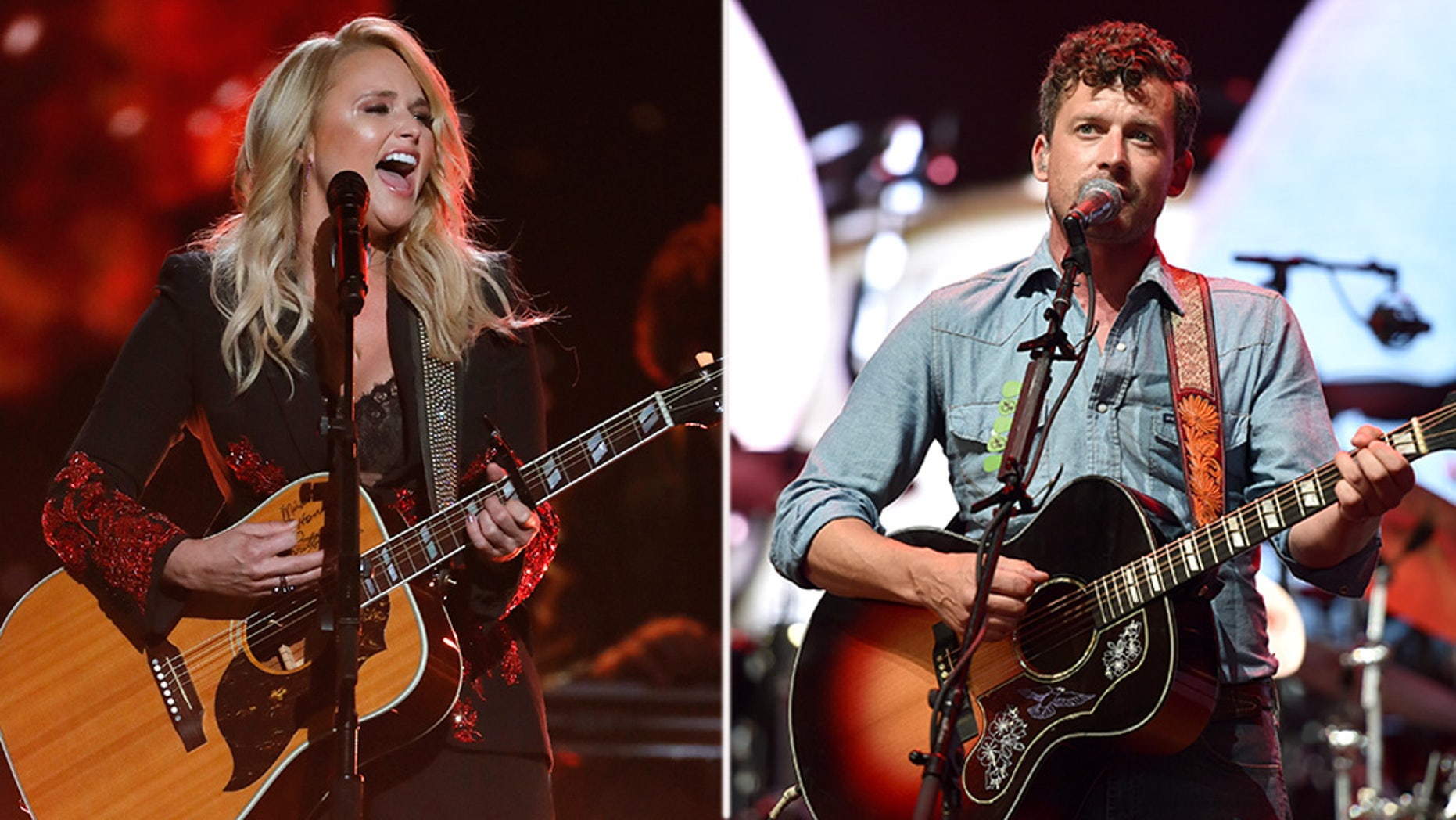 Miranda Lambert's boyfriend Evan Felker, right, has reportedly finalized his divorce from wife, Stacy Felker, according to Page Six.