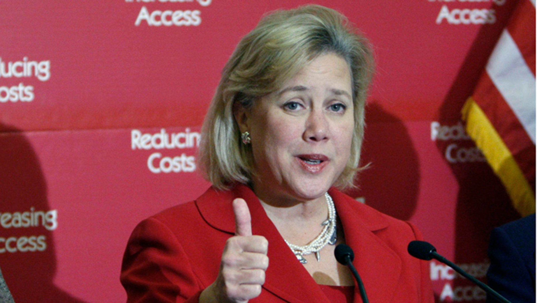 FILE: Undated: Sen. Mary Landrieu, D-La., at a health care conference on Capitol Hill in Washington, D.C.