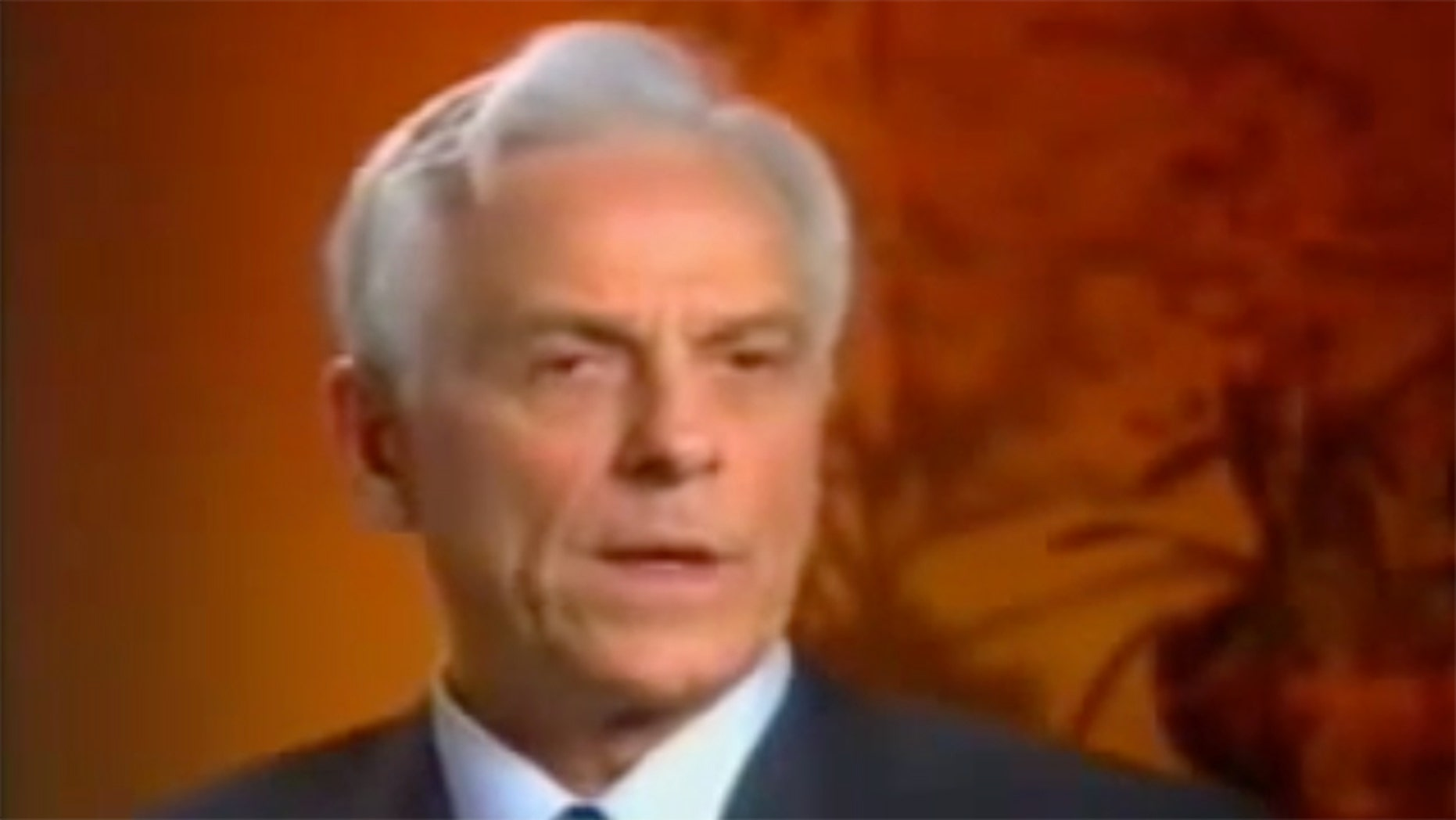 Lytle, pictured in a still taken from a video advertising his QLaser, was sentenced to 12 years in prison for fraud.