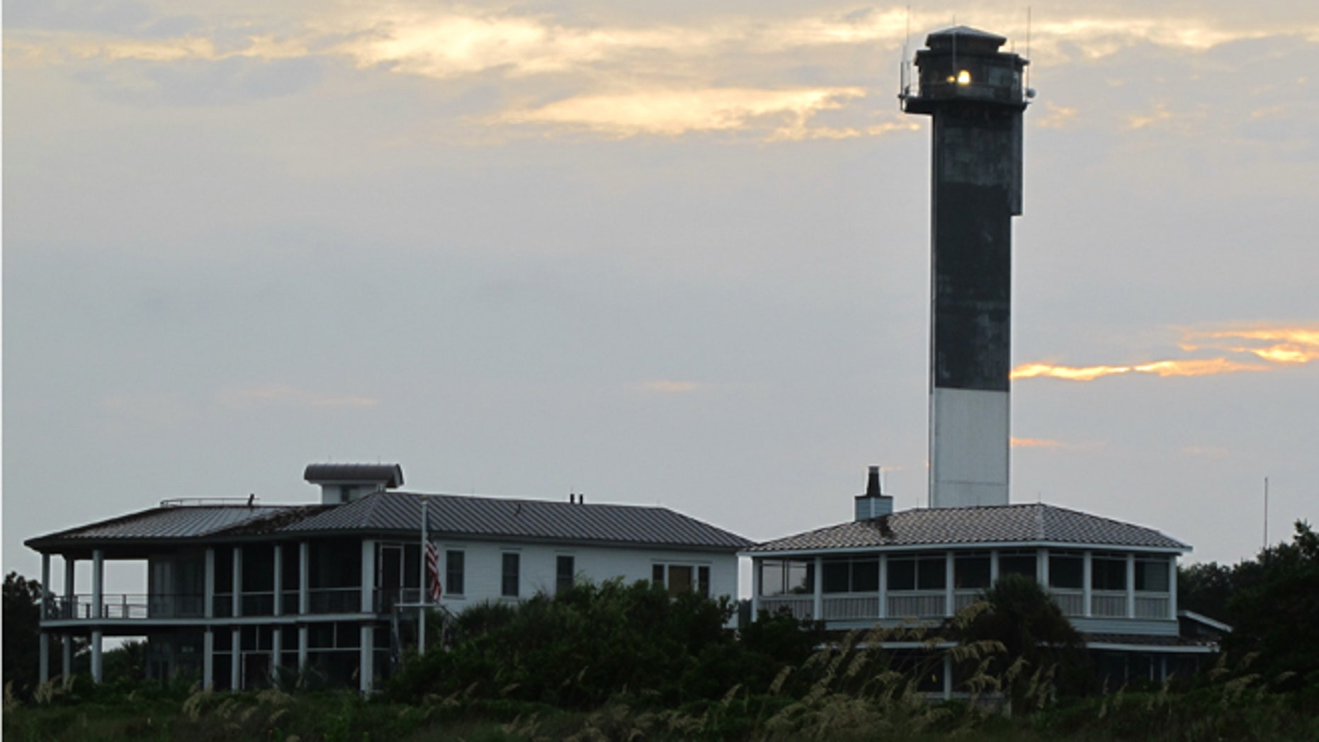 July 31, 2012: Charleston Light, the last major lighthouse built in the United States, is seen on Sullivans Island, S.C.