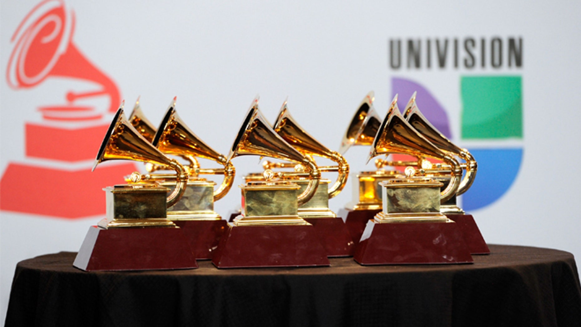 LAS VEGAS, NV - NOVEMBER 10:  A general view of the atmosphere in the press room during the 12th annual Latin GRAMMY Awards at the Mandalay Bay Resort & Casino on November 10, 2011 in Las Vegas, Nevada.  (Photo by Ethan Miller/Getty Images)