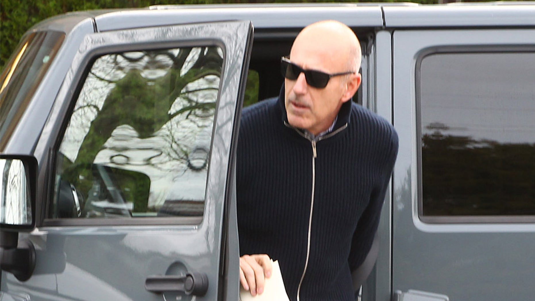 Matt Lauer seen out for the first time since his firing from the Today show from multiple sexual harassment allegations.