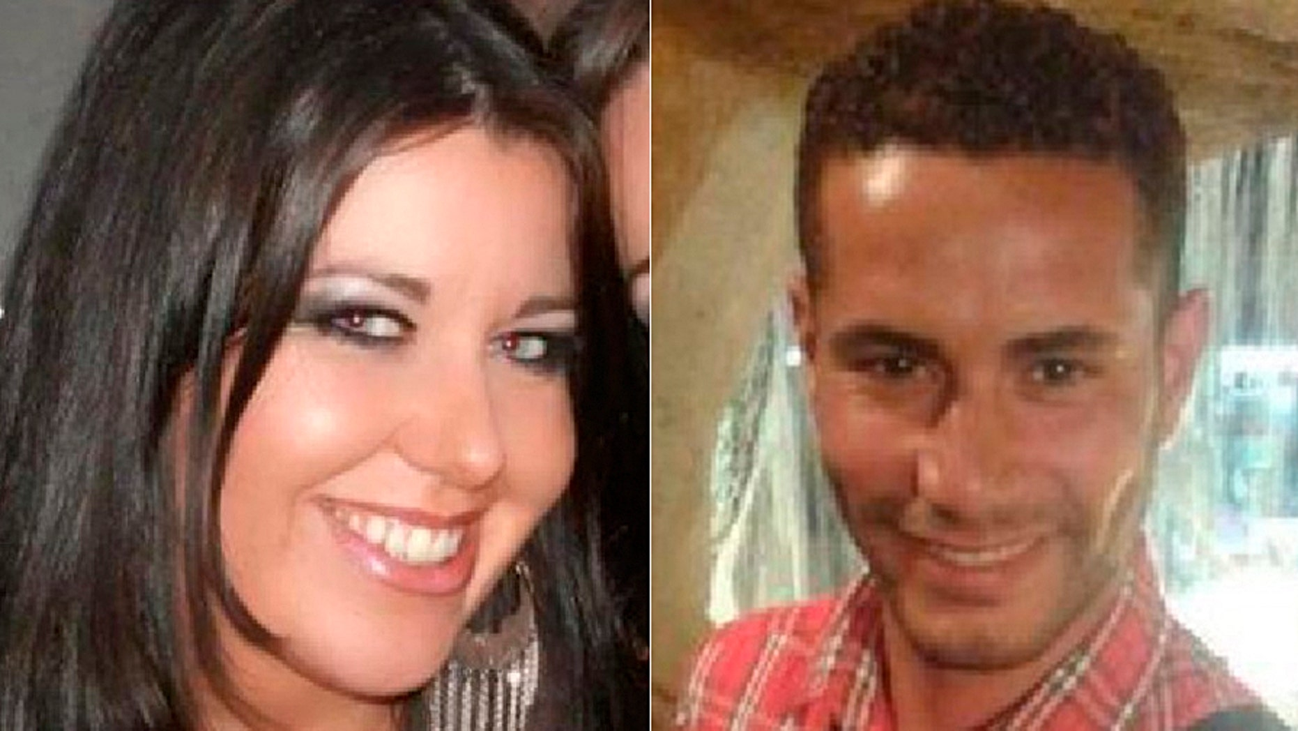 Laura Plummer, left, was sentenced to prison time for smuggling drugs into Egypt that she claimed were for her boyfriend Omar Caboo, at right.