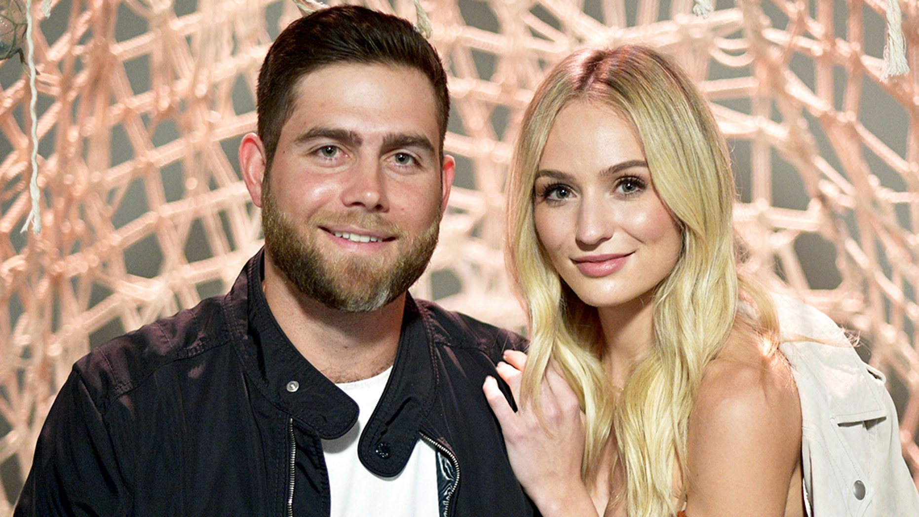 'Bachelor' winner Lauren Bushnell, right, shared a Bible verse on social media after her split from Devin Antin, left.