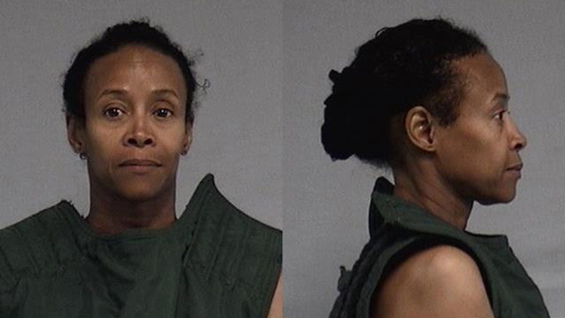 Lawanda Brown, 57, was arrested for attempted murder, the sheriff's office said.