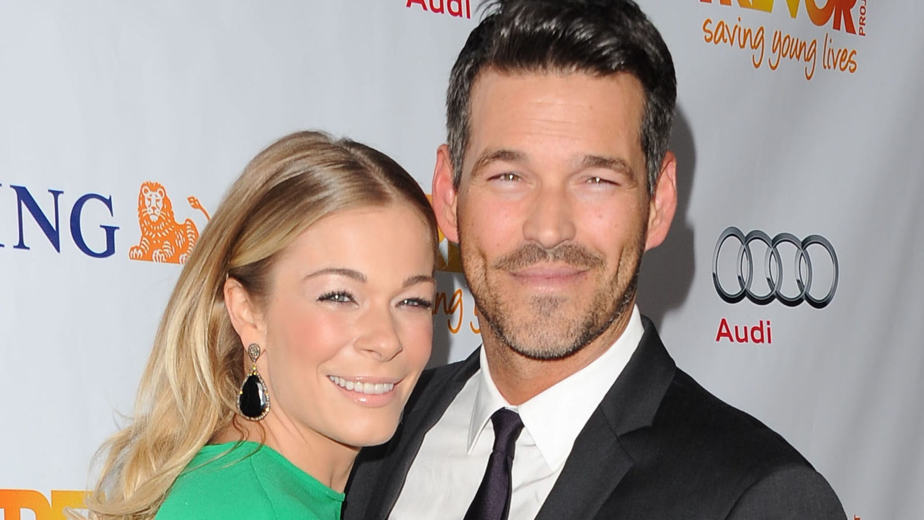 LOS ANGELES, CA - DECEMBER 04:  Actor Eddie Cibrian and singer LeAnn Rimes arrive at the Trevor Project's 2011 Trevor Live! at The Hollywood Palladium on December 4, 2011 in Los Angeles, California.  (Photo by Jason Merritt/Getty Images)
