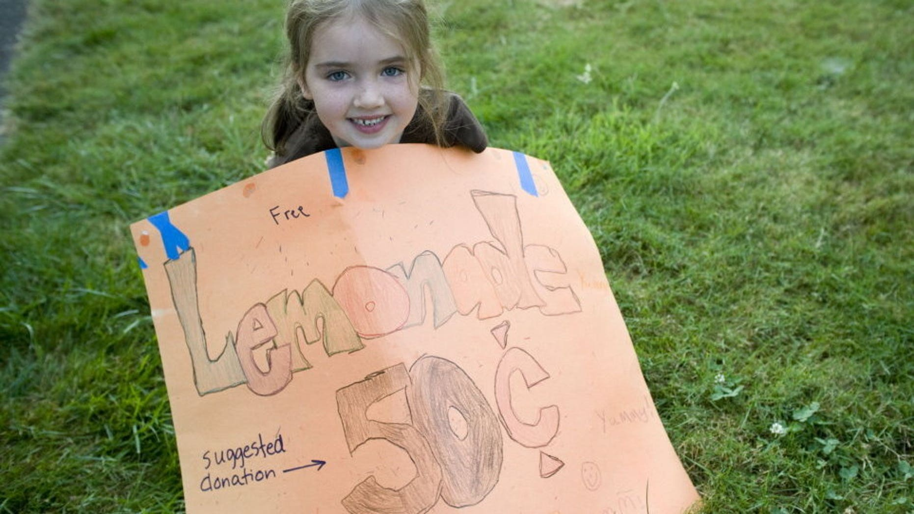 Inspectors told 7-year-old Julie Murphy that she needed a license to run her lemonade stand at a monthly art fair.