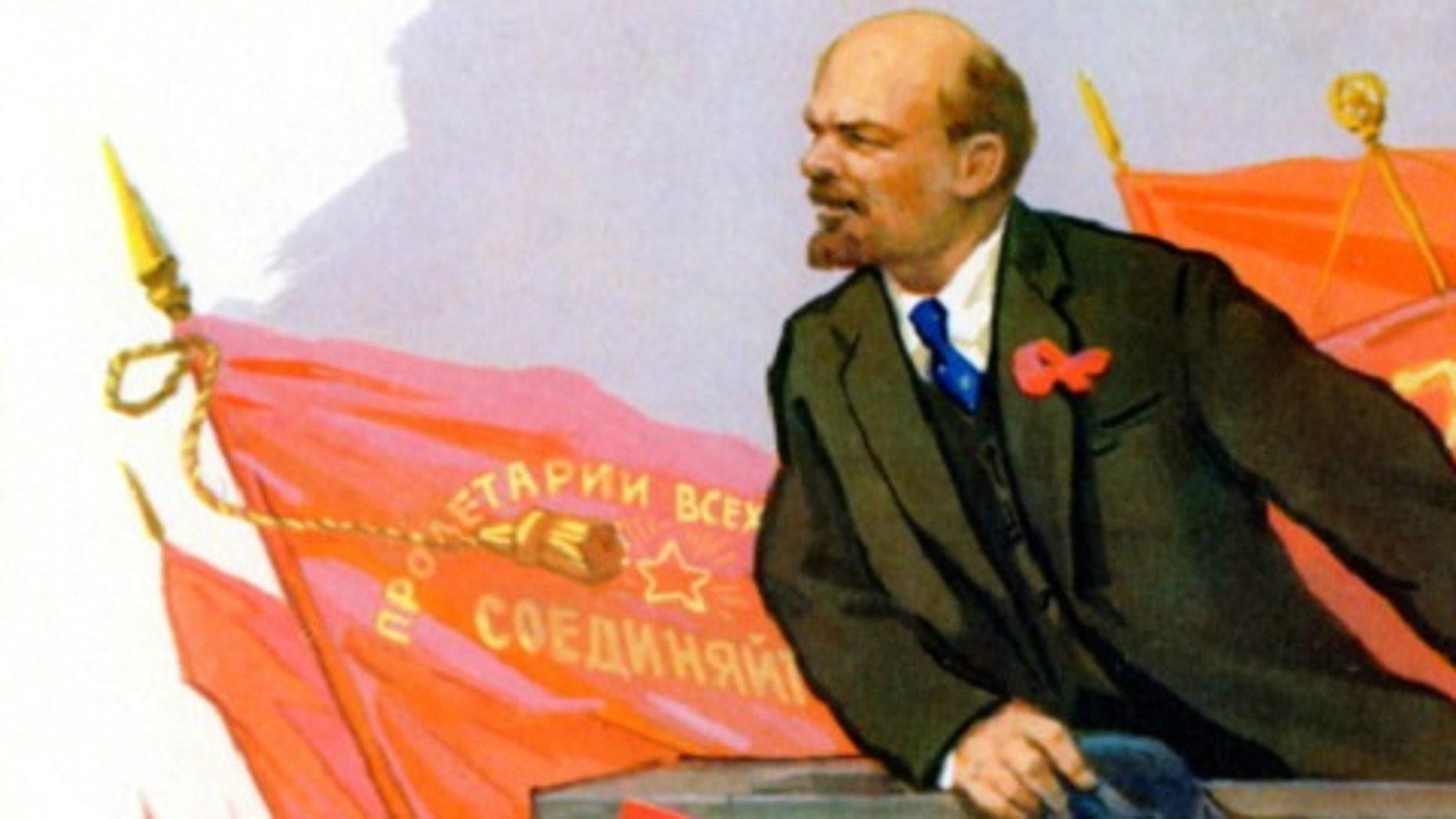 Lenin propaganda Getty Images/Culture Club