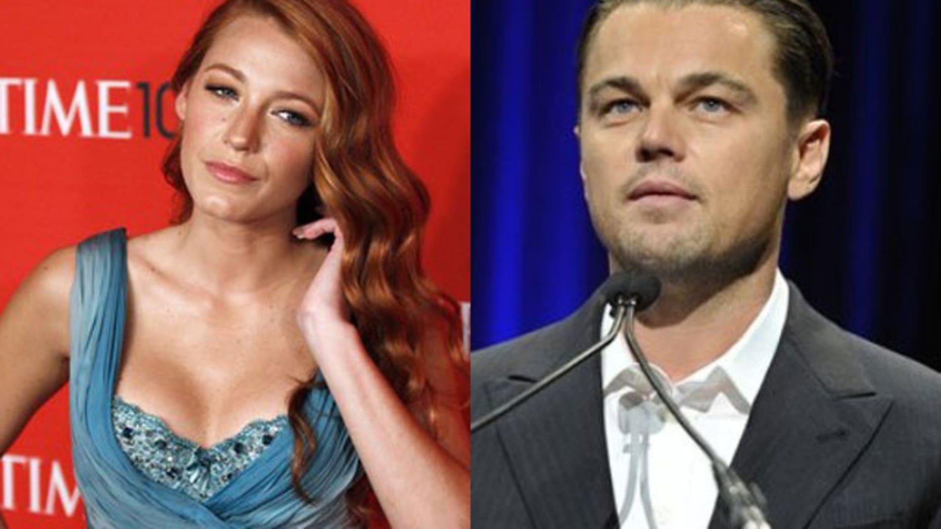 Blake Lively and Leonardo DiCaprio (Reuters)